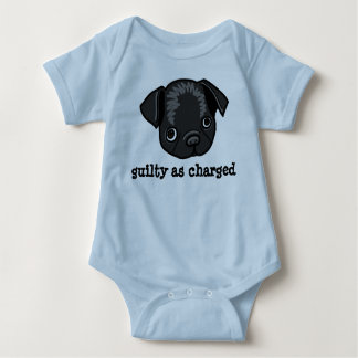 Guilty as Charged (design for boys) Baby Bodysuit