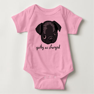 Guilty as Charged (design for girls) Baby Bodysuit