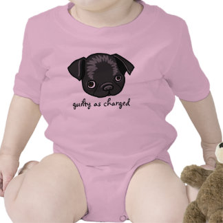 Guilty as Charged design for girls Romper