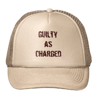 Guilty as Charged Trucker Hat