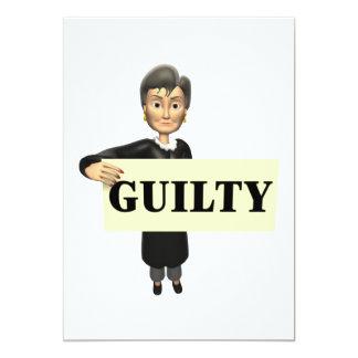 Guilty Card