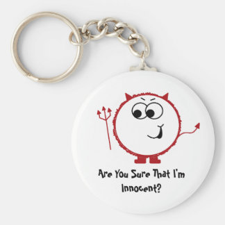 Guilty Devil Weeble Keychain