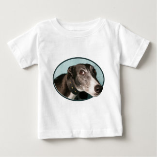Guilty Greyhound in Oval T Shirts