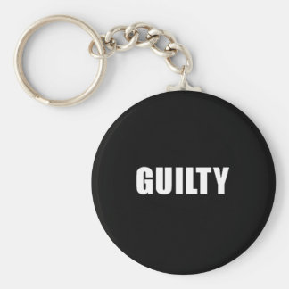 Guilty guilt feelings sad remorse comments express keychain