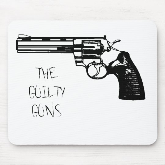 Guilty Guns Standard Revolva Logo Mousepad
