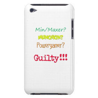 Guilty!!! Ipod Touch Case ... from Wezl Ware