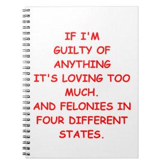 guilty notebook