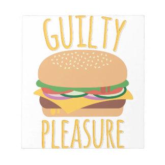 Guilty Pleasure Notepad
