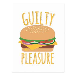 Guilty Pleasure Postcard