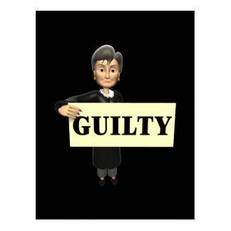 Guilty Postcard