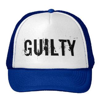 Guilty Trucker Hat