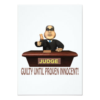 Guilty Until Proven Innocent Card