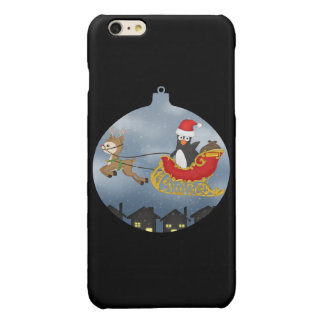 'Guin: Christmas Bauble' Glossy iPhone 6 Plus Case