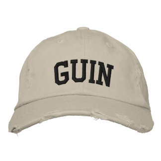 Guin Embroidered Hat Embroidered Baseball Cap
