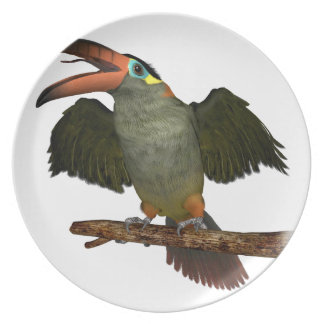 Guinan Toucanet Dinner Plate