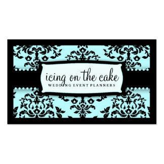 Guinda del pastel 311 algo azul plantilla de tarjeta de visita