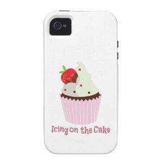 Guinda del pastel iPhone 4/4S fundas