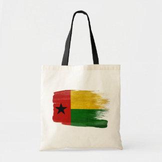 Guinea Bissau Flag Canvas Bags