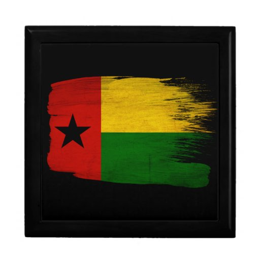 Guinea Bissau Flag Gift Boxes