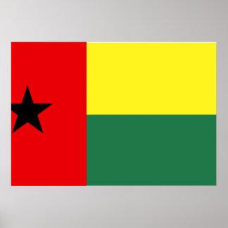 Guinea Bissau Flag Print