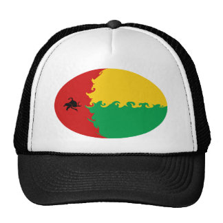 Guinea Bissau Gnarly Flag Hat