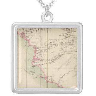 Guinea Bissau Guinea Sierra Leone, Africa Silver Plated Necklace
