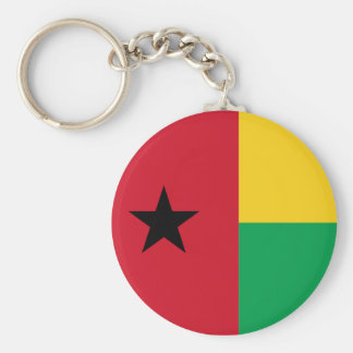 Guinea-Bissau Llavero Redondo Tipo Pin