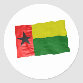 Guinea-Bissau Pegatina Redonda