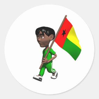Guinea Bissau Sticker