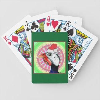 Guinea Christmas! Bicycle Playing Cards