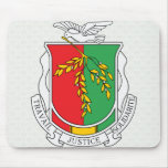 Guinea Coat of Arms detail Mouse Pad