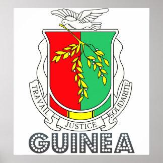 Guinea Coat of Arms Print