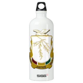 Guinea Coat of Arms Water Bottle