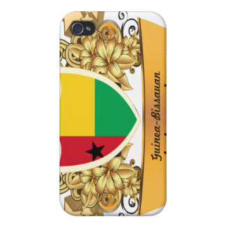 Guinea con clase Bissauan iPhone 4/4S Carcasa