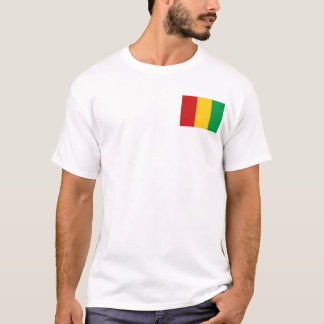 Guinea-Conakry Flag and Map T-Shirt