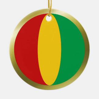 Guinea-Conakry Flag Ornament