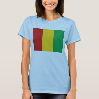 Guinea-Conakry Flag x Map T-Shirt