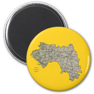 Guinea-Conakry Map Magnet