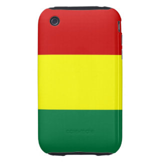 guinea country flag red yellow green case