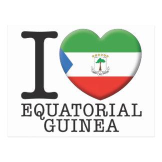 Guinea Ecuatorial Tarjeta Postal
