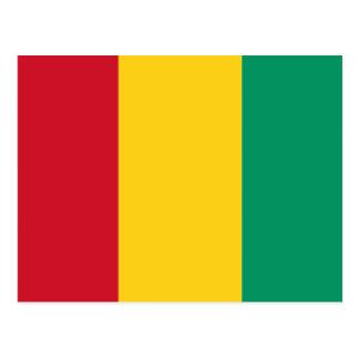 Guinea Flag GN Postcard