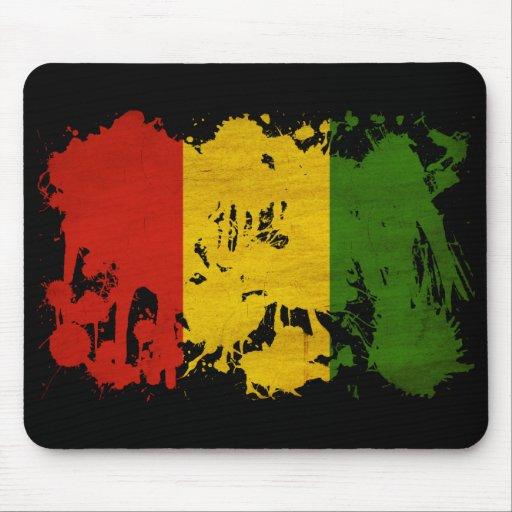 Guinea Flag Mouse Pad