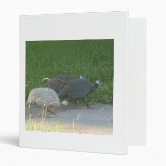 Guinea Fowl Avery Binder