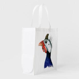 Guinea Head Grocery Bag
