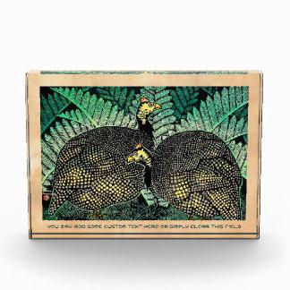 Guinea Hens kasamatsu shiro bird leaf japanese art Awards