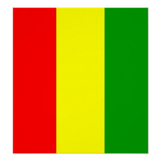 Guinea High quality Flag Poster