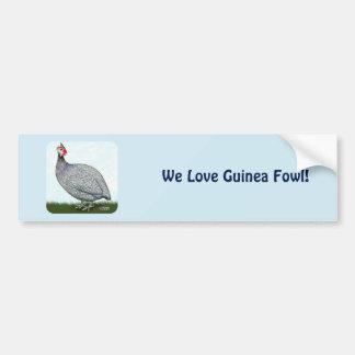 Guinea Lavender On Watch Bumper Sticker