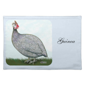 Guinea Lavender On Watch Cloth Placemat