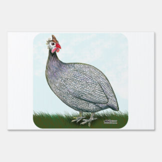 Guinea Lavender On Watch Lawn Sign
