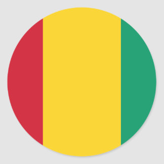 Guinea Pegatina Redonda